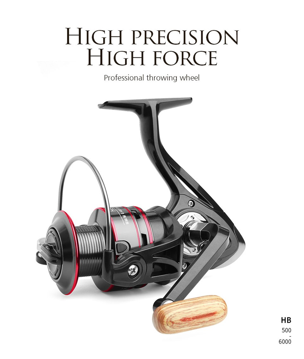 Fishing Reel - Black HB1000