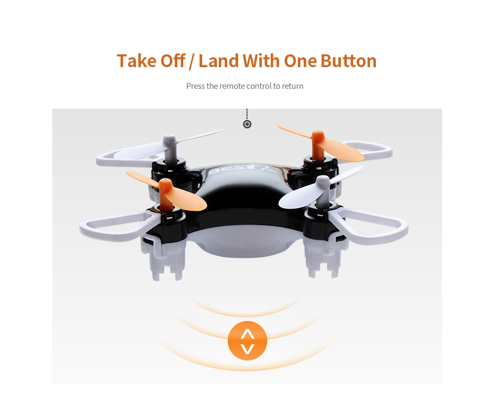 Four-axis Mini Drone One Button Operation