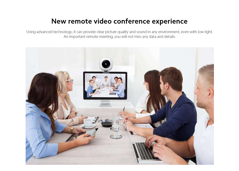 Q9 Computer Camera New remote video conference experience