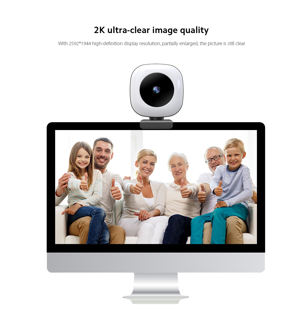Q9 Computer Camera 2K ultra-clear image quality