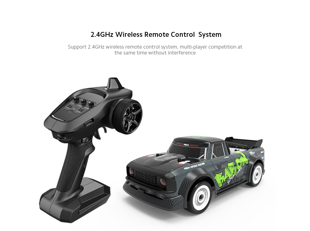 1/16 Electric Model All Proportional Remote Control Car Control