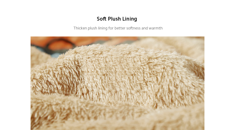 Autumn And Winter Men's Plush Coat lining