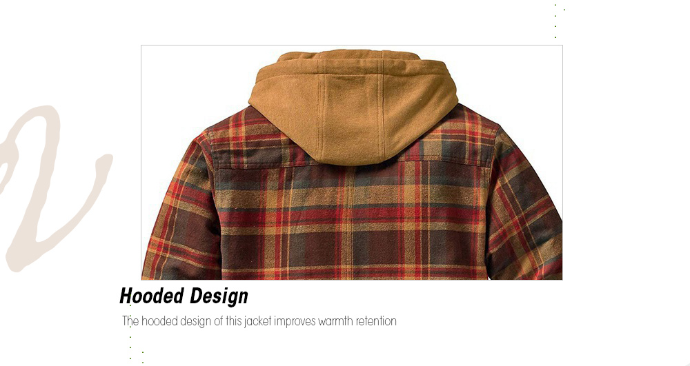 Autumn And Winter Thickening Cotton Coat Hoodie