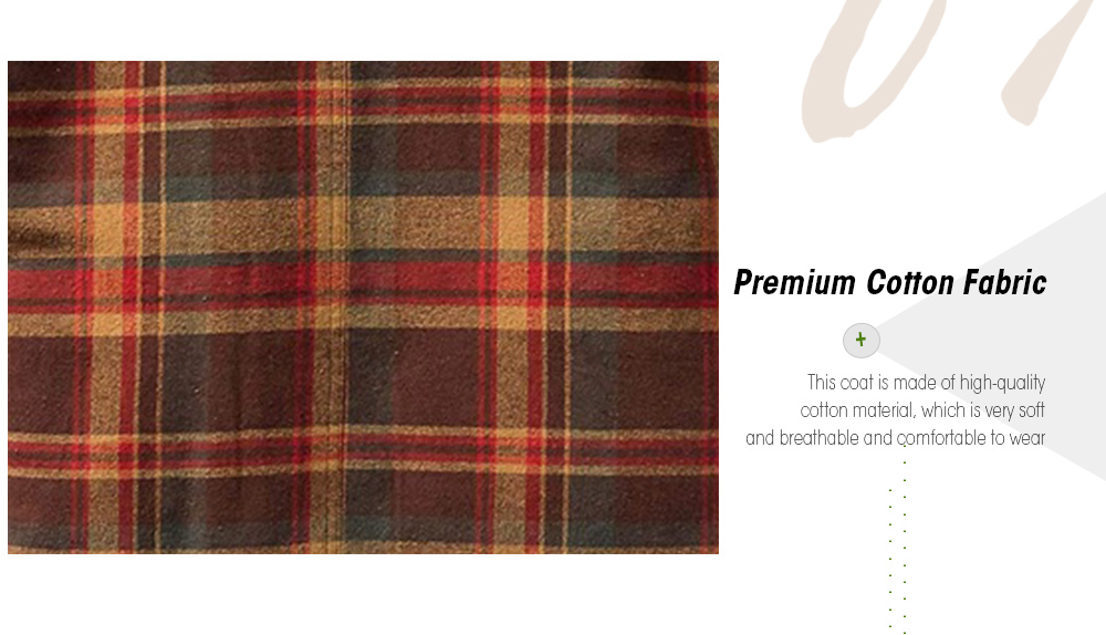 Autumn And Winter Thickening Cotton Coat Fabric