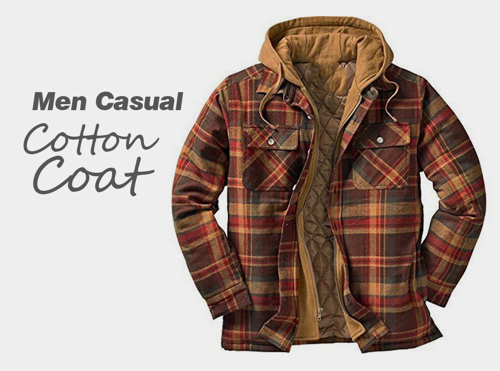 Autumn And Winter Thickening Cotton Coat