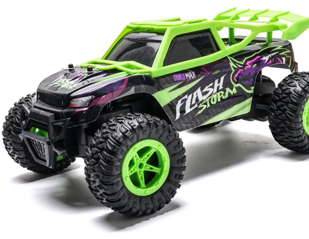 RC Monster Truck Toy - Orange