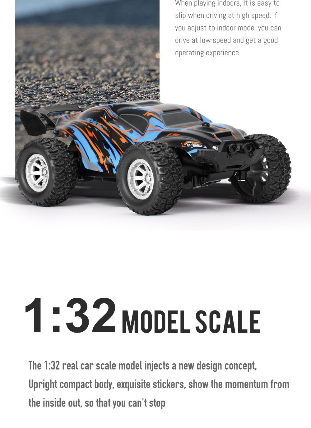 S809 RC Car Toy - Multi-A One Battery