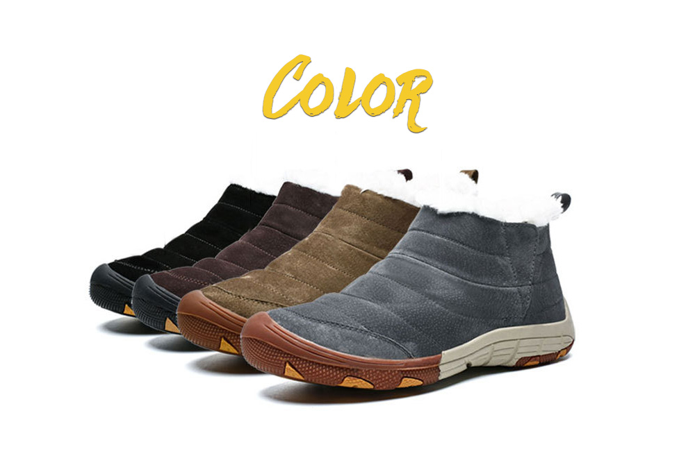 Men's Cotton Shoes Colors