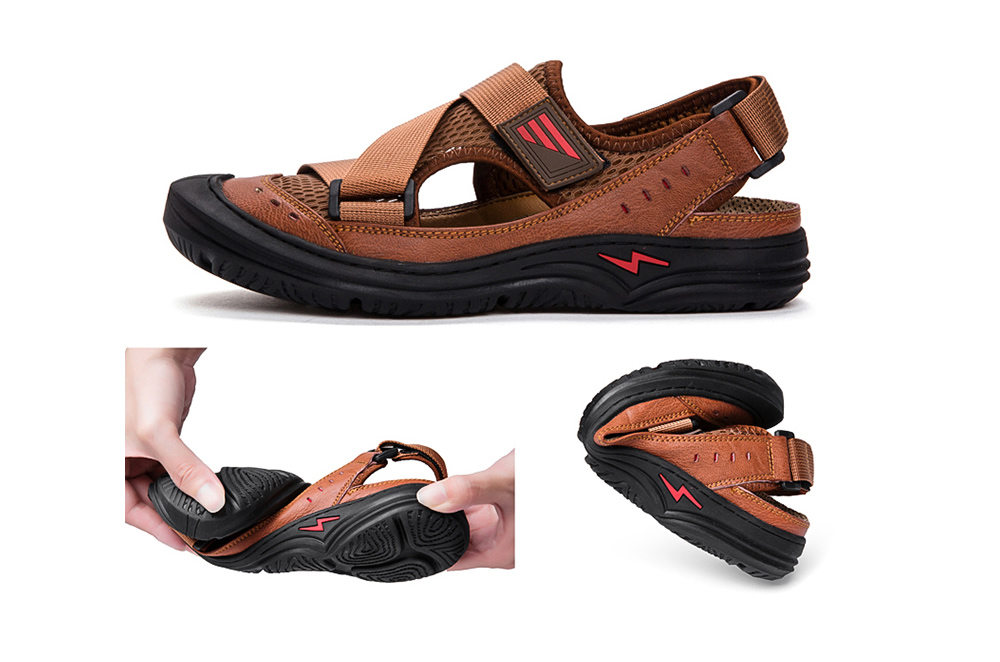 IZZUMI Summer Breathable Men Sandal Comfortable and soft body