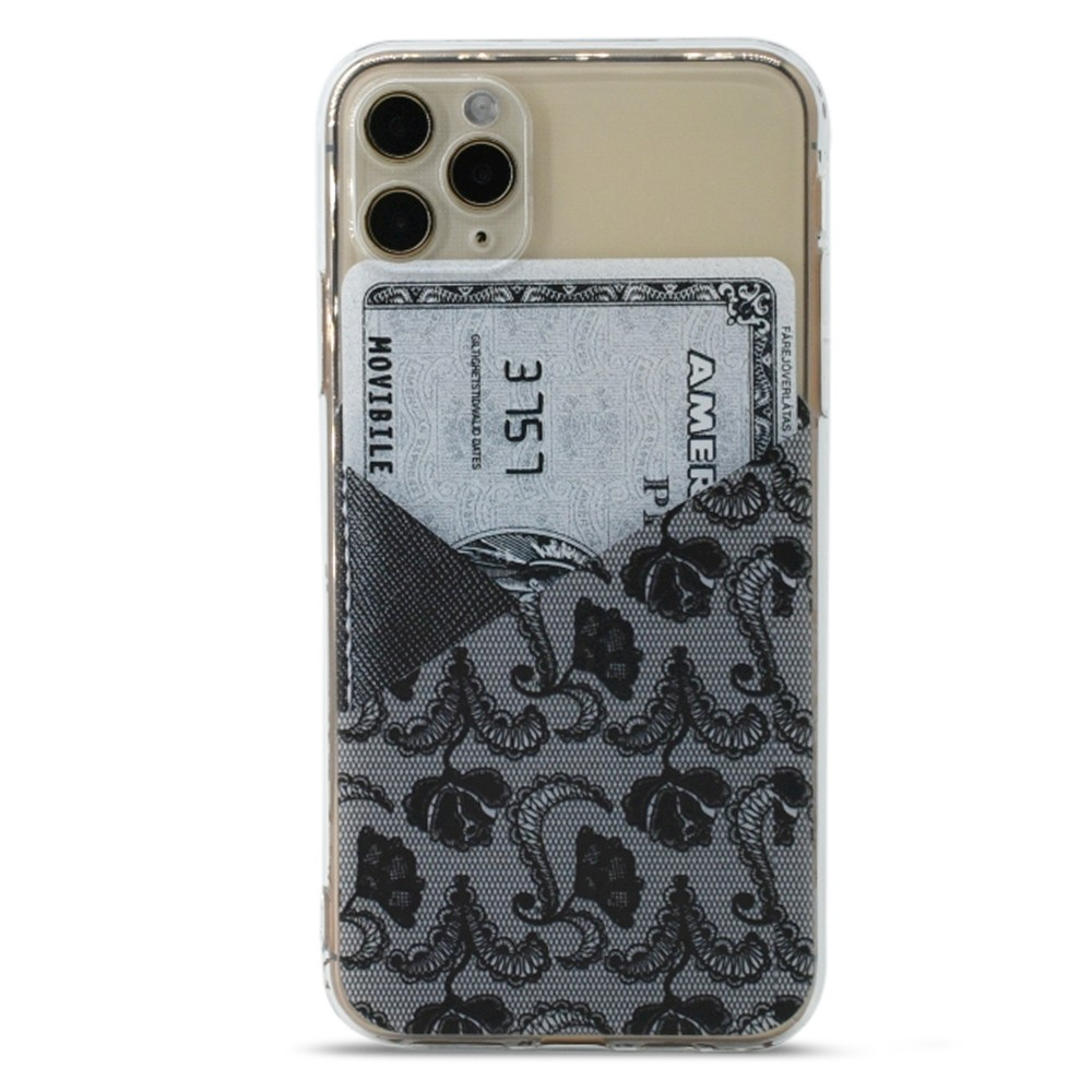 British Style Transparent Painted Mobile Phone Case Silicone Soft For iPhone 11/11 Pro/11 Pro Max/iPhone 12/12 Pro/12 Pro Max/12 Mini - Transparent For iPhone 11