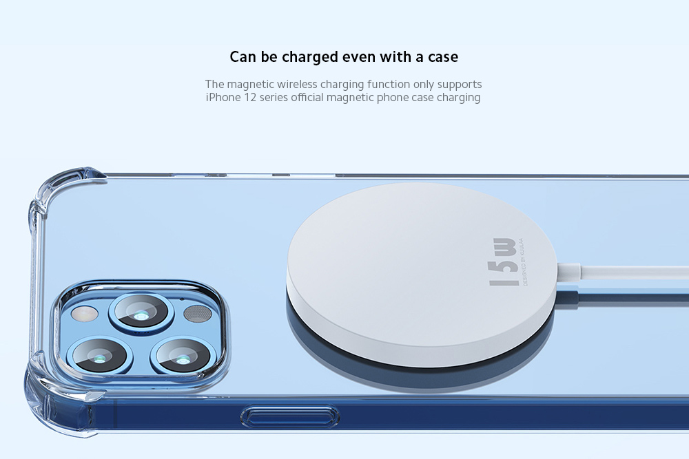 KUULAA KL-O168 Charger Can be charged even with a case