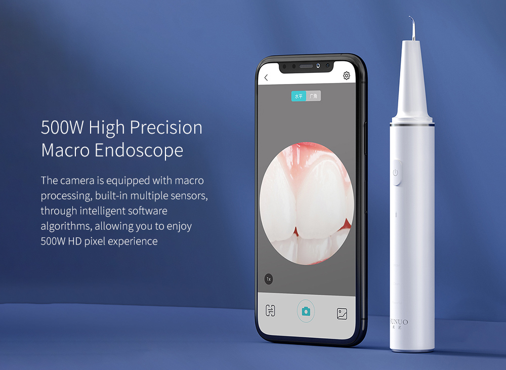 T11 Pro Smart Visual Ultrasonic Calculus Removal Dental Scaler High Precision
