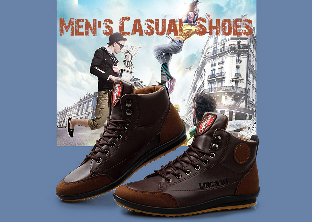 Men PU Leather Shoes