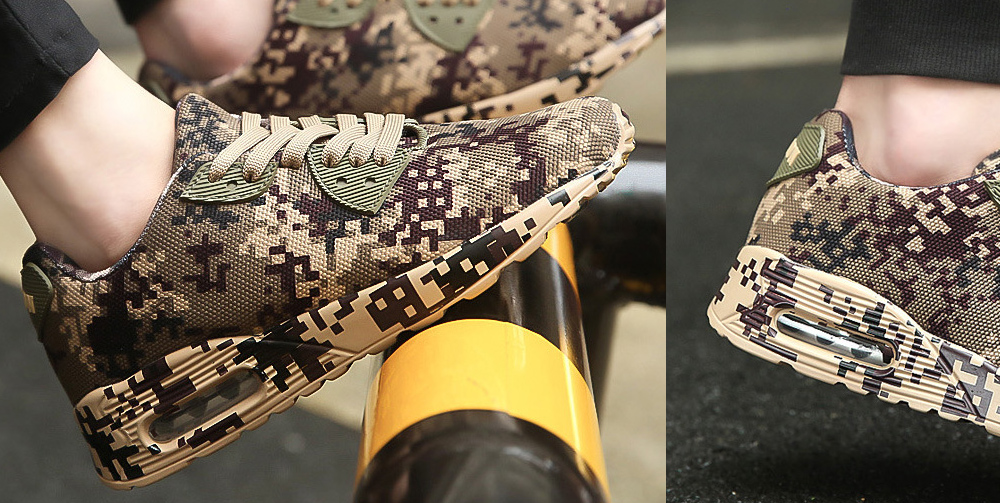 Autumn And Winter Camouflage Sports Casual Shoe