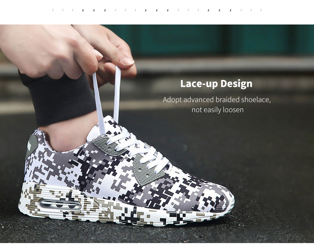 Autumn And Winter Camouflage Sports Casual Shoe Lace-up