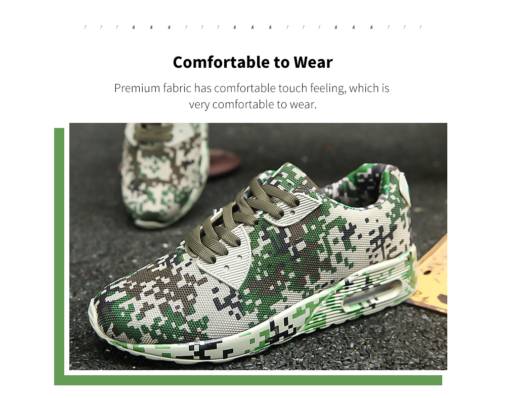 Autumn And Winter Camouflage Sports Casual Shoe Fabric