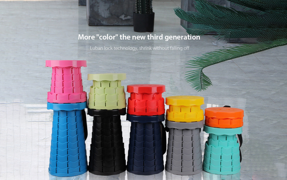 """Monclique Outdoor Folding Stool More """"color"""" the new third-generation"""