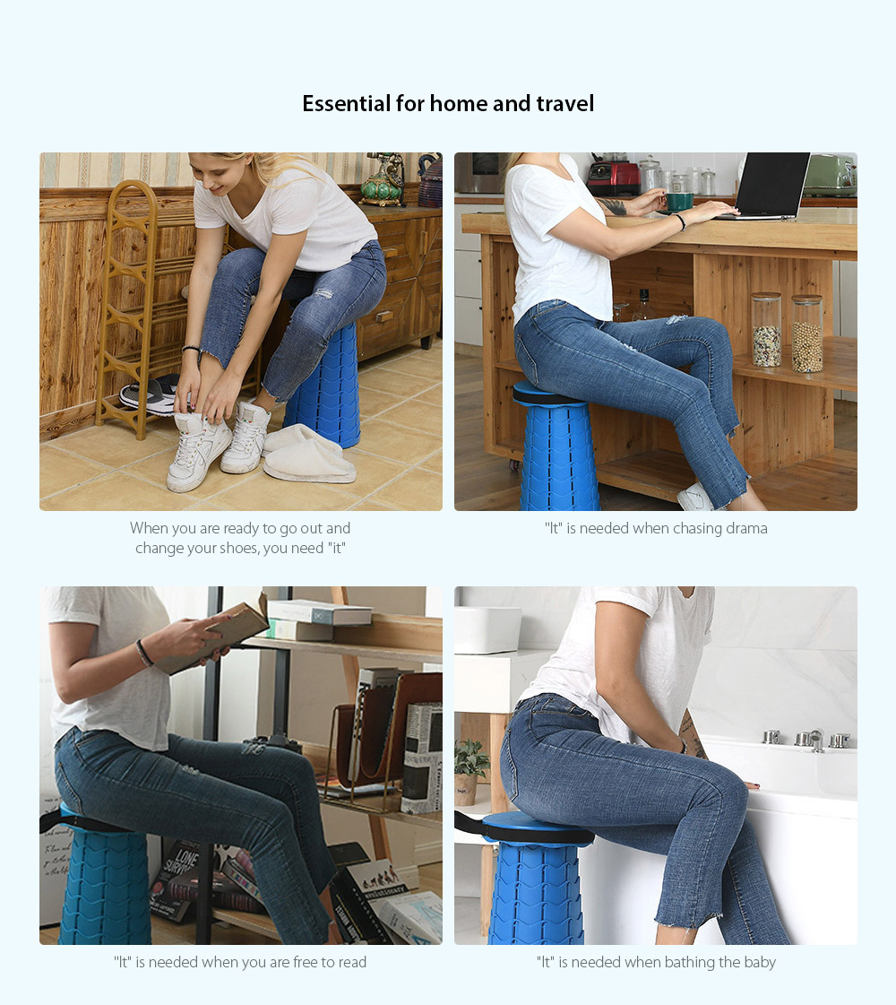 Monclique Outdoor Folding Stool Essential for home and travel