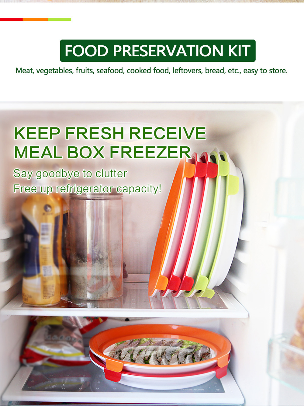 Clever Tray food preservation