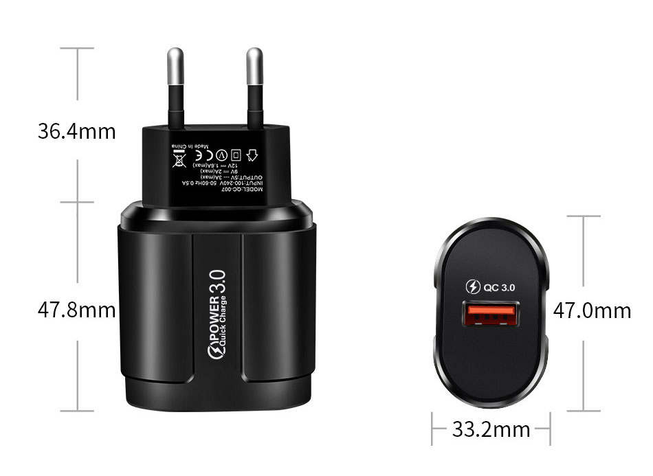 UC3746 Charger size