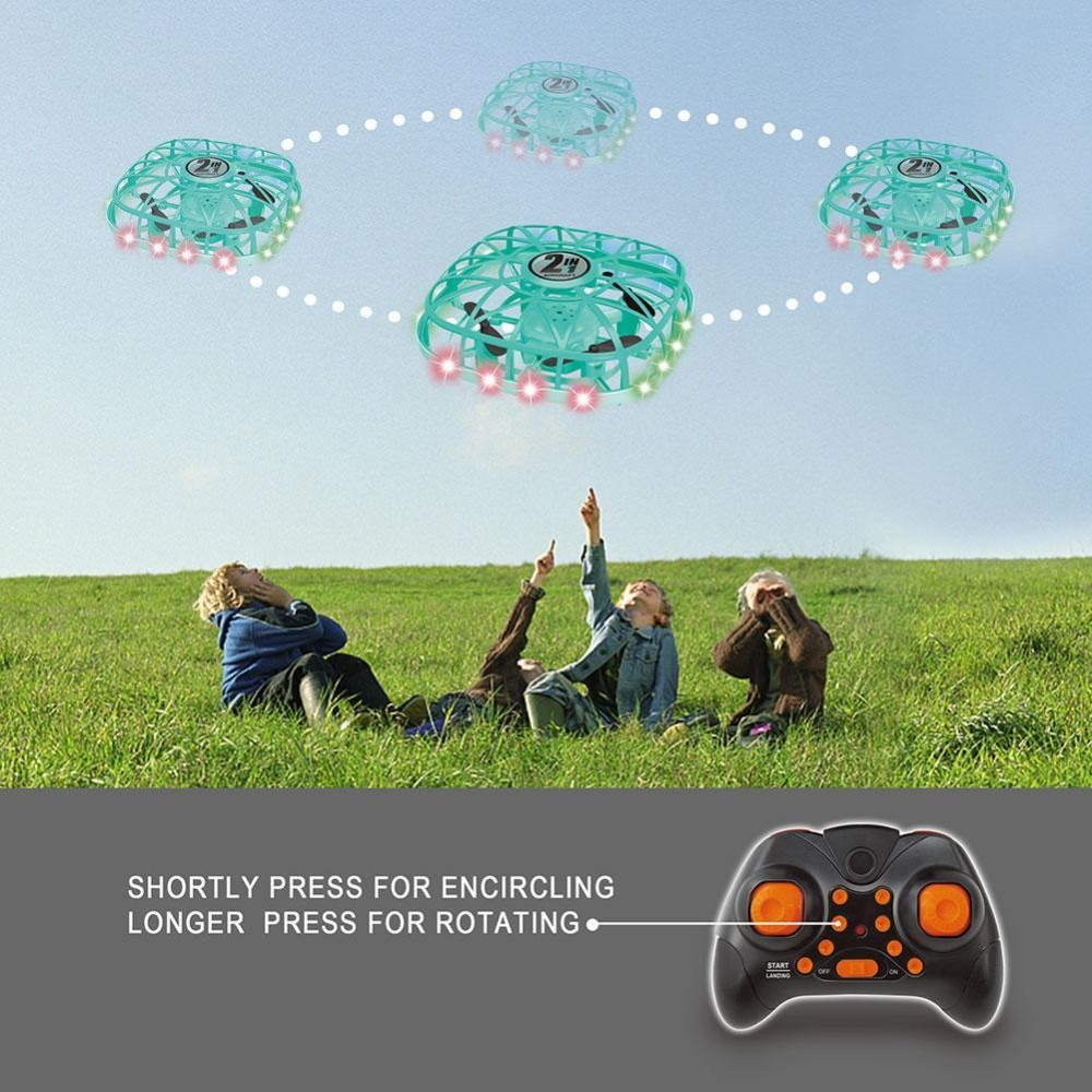 RC Quadcopter Drone Toy - Green