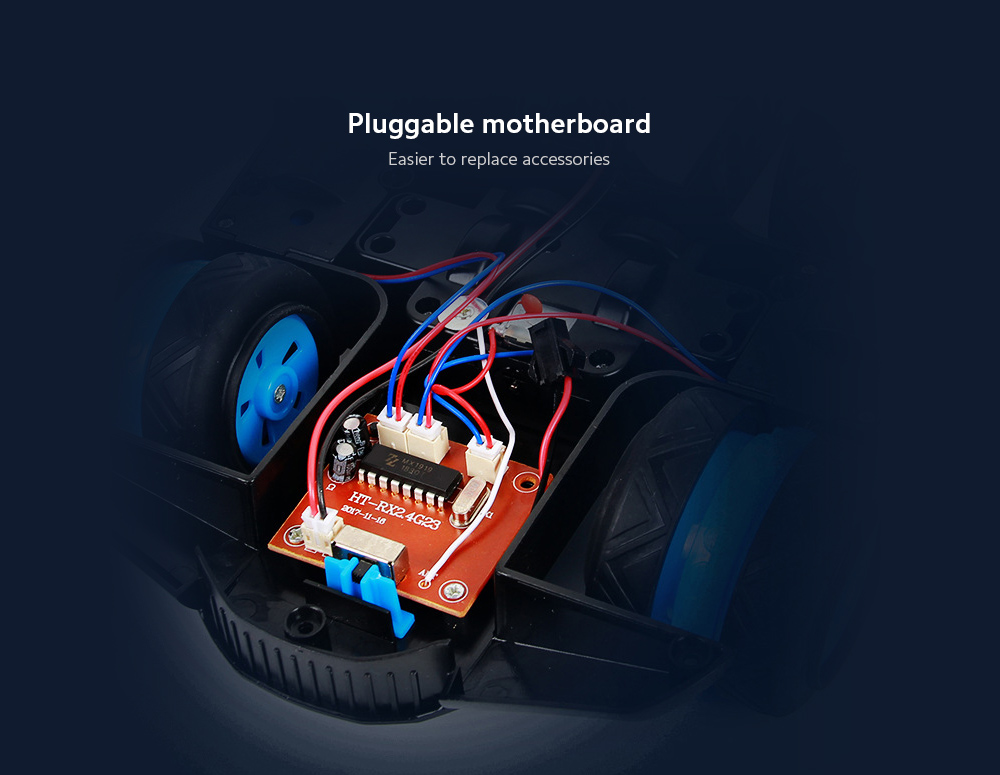 Children Remote Control Car Pluggable motherboard