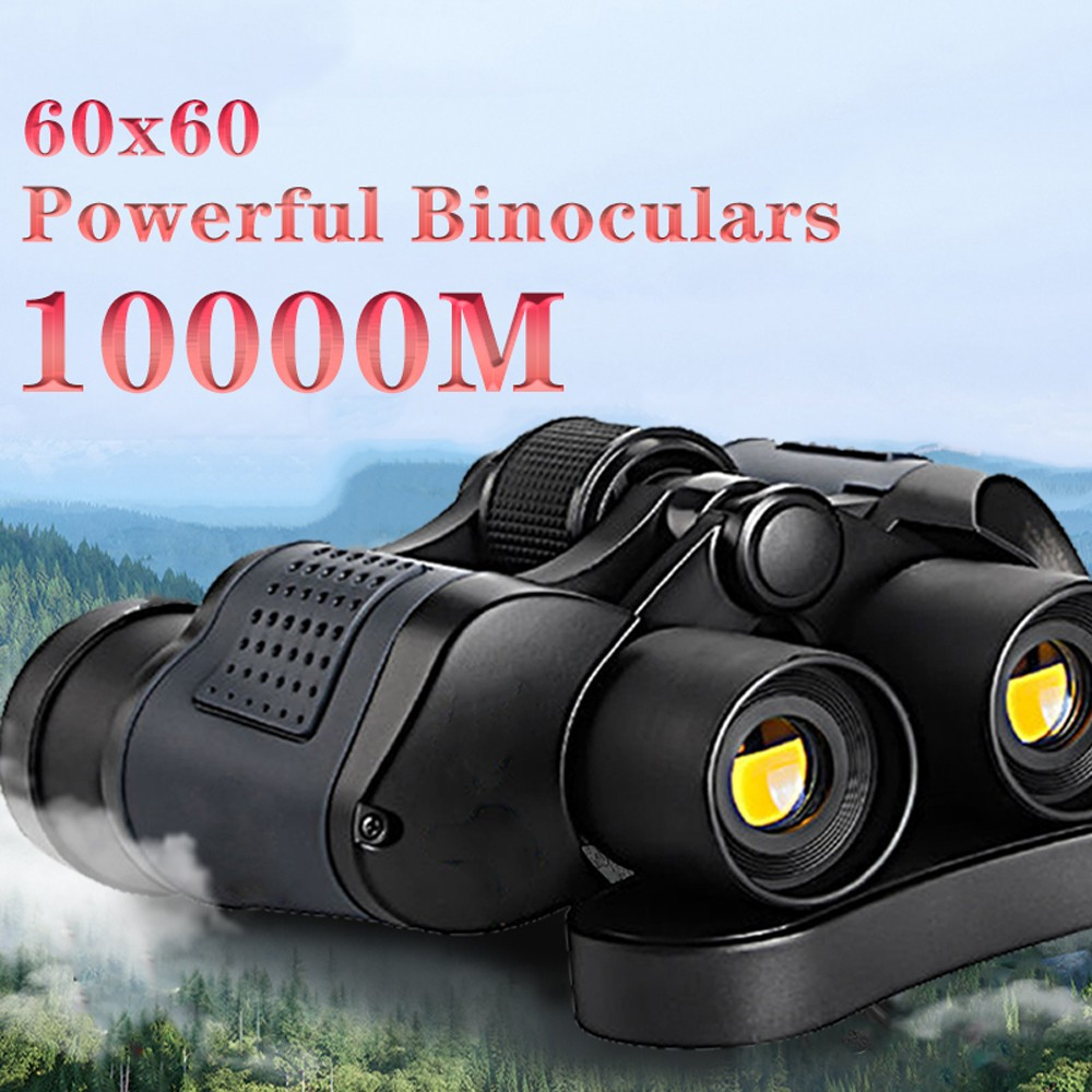 Binocular Telescope 60x60 High Clarity - Black