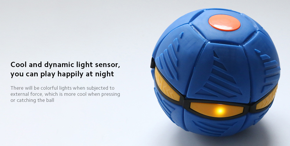 Decompression UV Ball Cool and dynamic light sensor, you can play happily at night