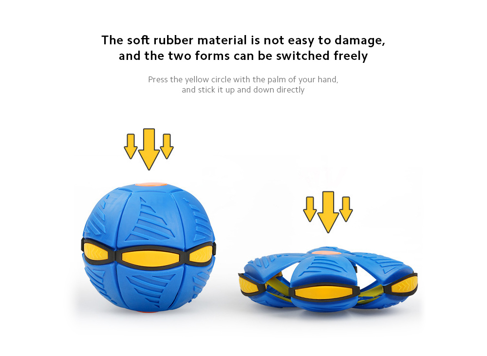 Decompression UV Ball The soft rubber material is not easy to damage, and the two forms can be switched freely
