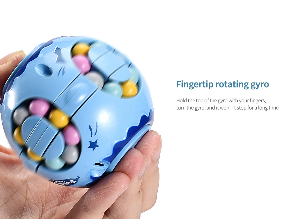 Toy Colorful Magic Cube Fingertip rotating gyro