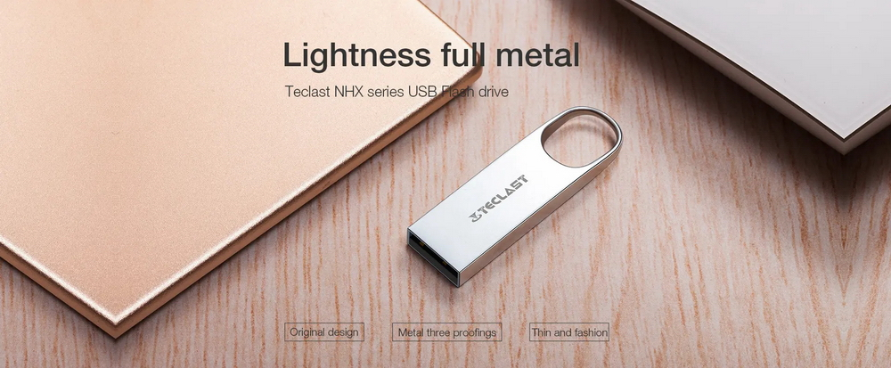 Teclast USB Flash Memory - Silver 16GB