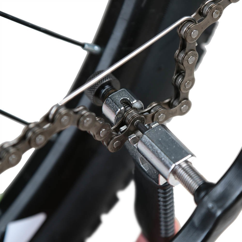 Bike Tool Bicycle Mountain Chain Removal Device with Interceptor Bicycle Repair Tool - Black New Version