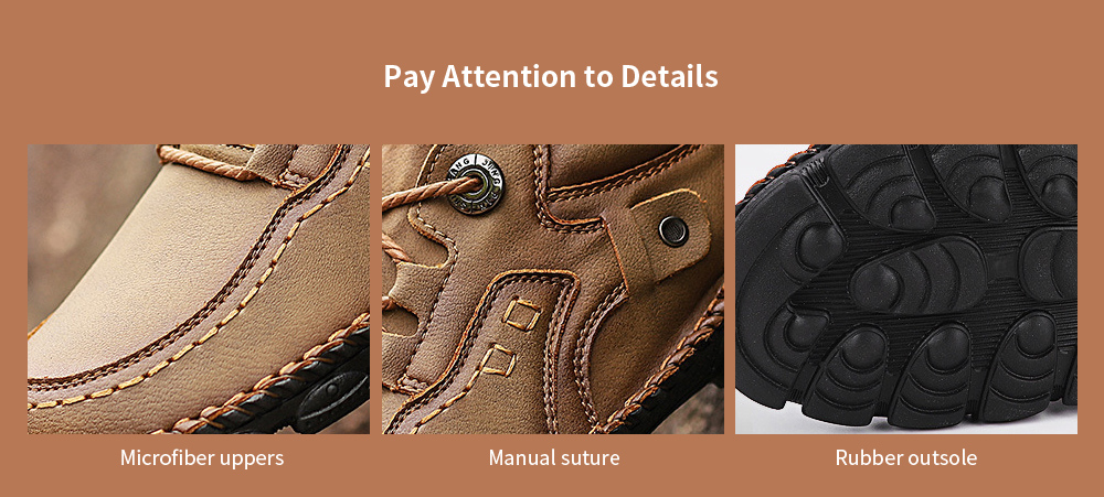Men's Casual Shoes Summer Outdoor Shoes Tooling Shoes Handmade Leather Stitching Men's Large Size - Black 48