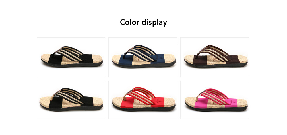 Summer EVA Men Slippers Couple Korean Version Male Beach Slippers - A46 Plum Red 39