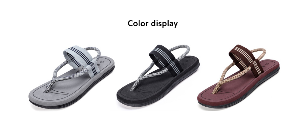Flip-flops Men And Women Personality Summer Couple Beach Shoes Casual Anti-slip Slippers - La61 Black 36