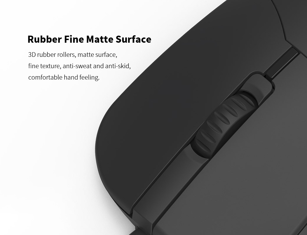 Lenovo M101 Mouse Notebook Business Office Household USB Mouse Computer Wired Mouse - Black Rubber Fine Matte Surface