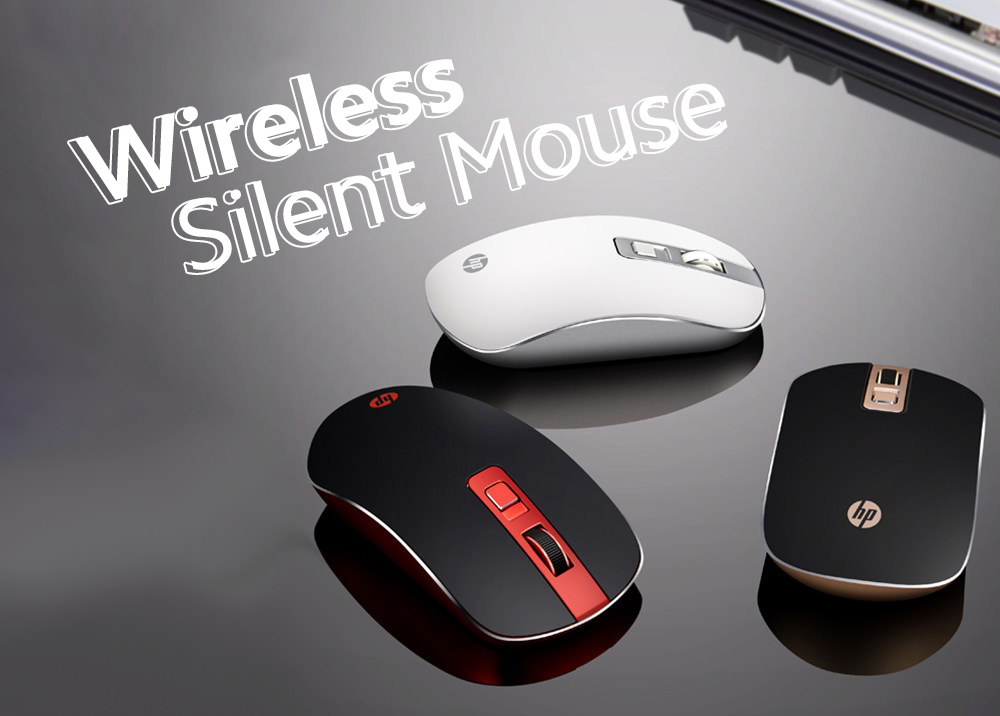 S4000 Mouse Wireless Mute Mouse Notebook Computer Home Office Light Fashion Wireless Mouse - Sakura Pink Wireless Silent Mouse