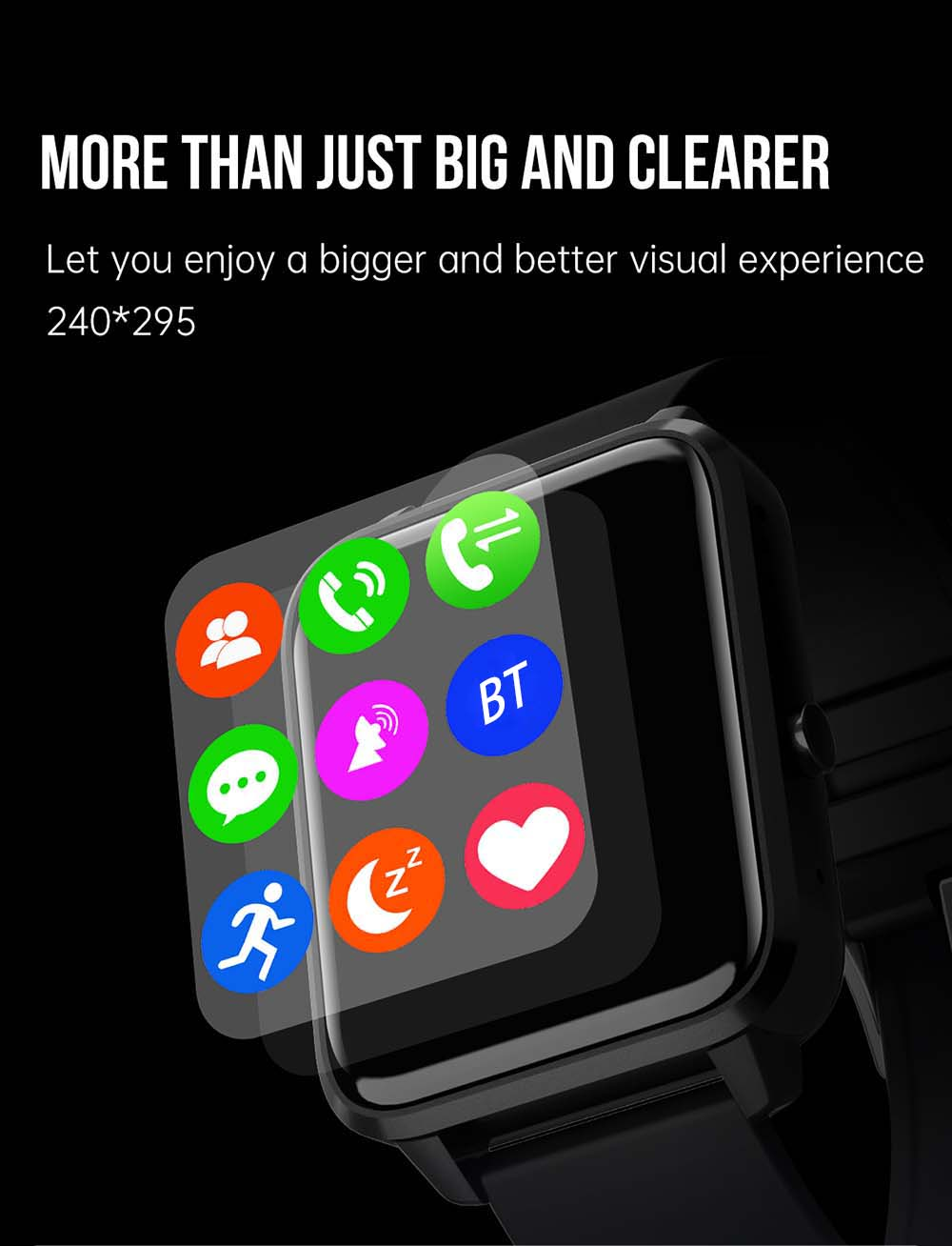 N65 Smart Watch - Black