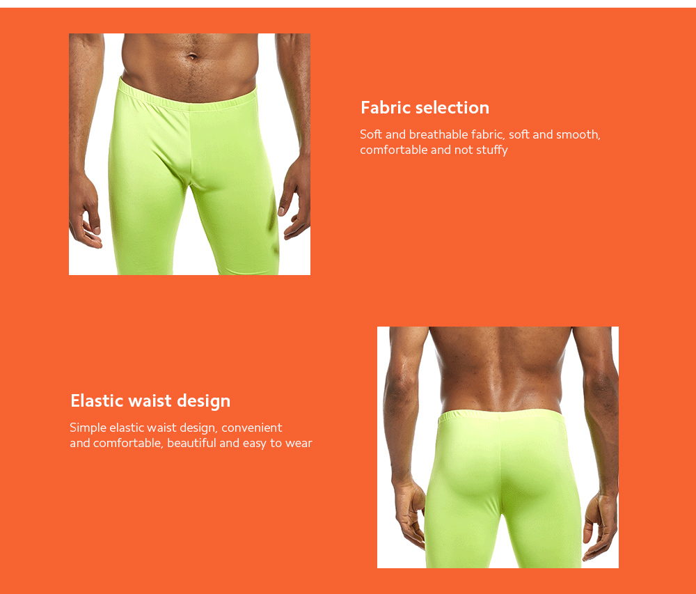 Casual Sports Fitness Trousers Male Speeding Pants Solid Color Low Waist Breathable Tight Sports Five Pants - fruitful L