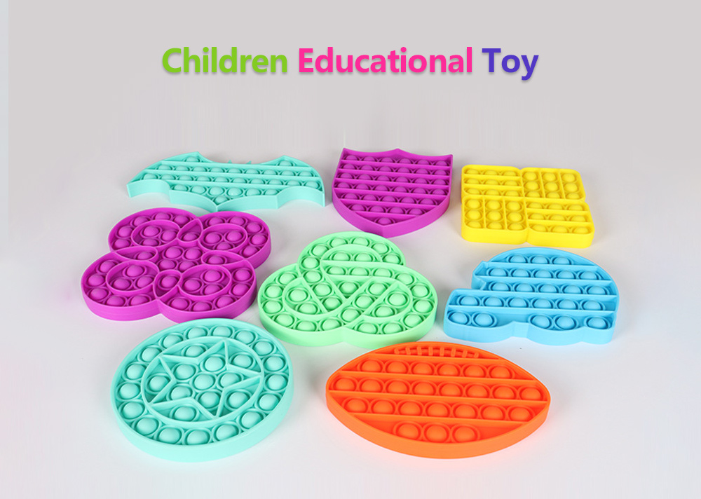 Rodent Pioneer Children Educational Silicone Toy Counting Ability and Logic Thinking Training Parent-child Interactive Board Game Science Educational Toys - Yellow Highway