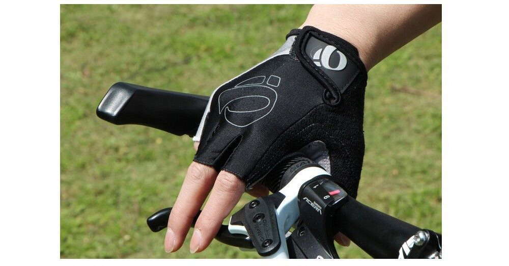Bicycle Half-finger Cycling Glove Bicycle One-word Rice Gloves Half Finger Cycling Gloves Mountain Bike Short Finger - Gray XL