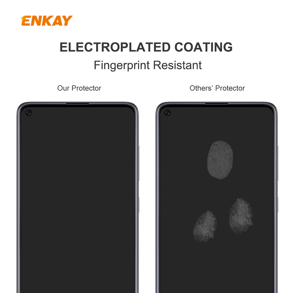 ENKAY Tempered Glass Protective Film for Redmi 10X 4G / Redmi Note 9 2pcs - Transparent
