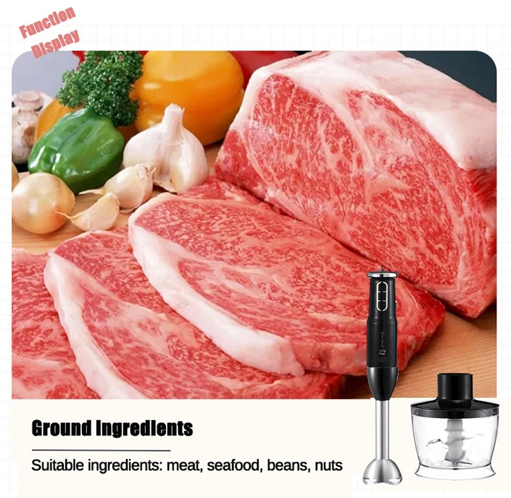 HG-282T 750W Multi-function Meat Grinder - White