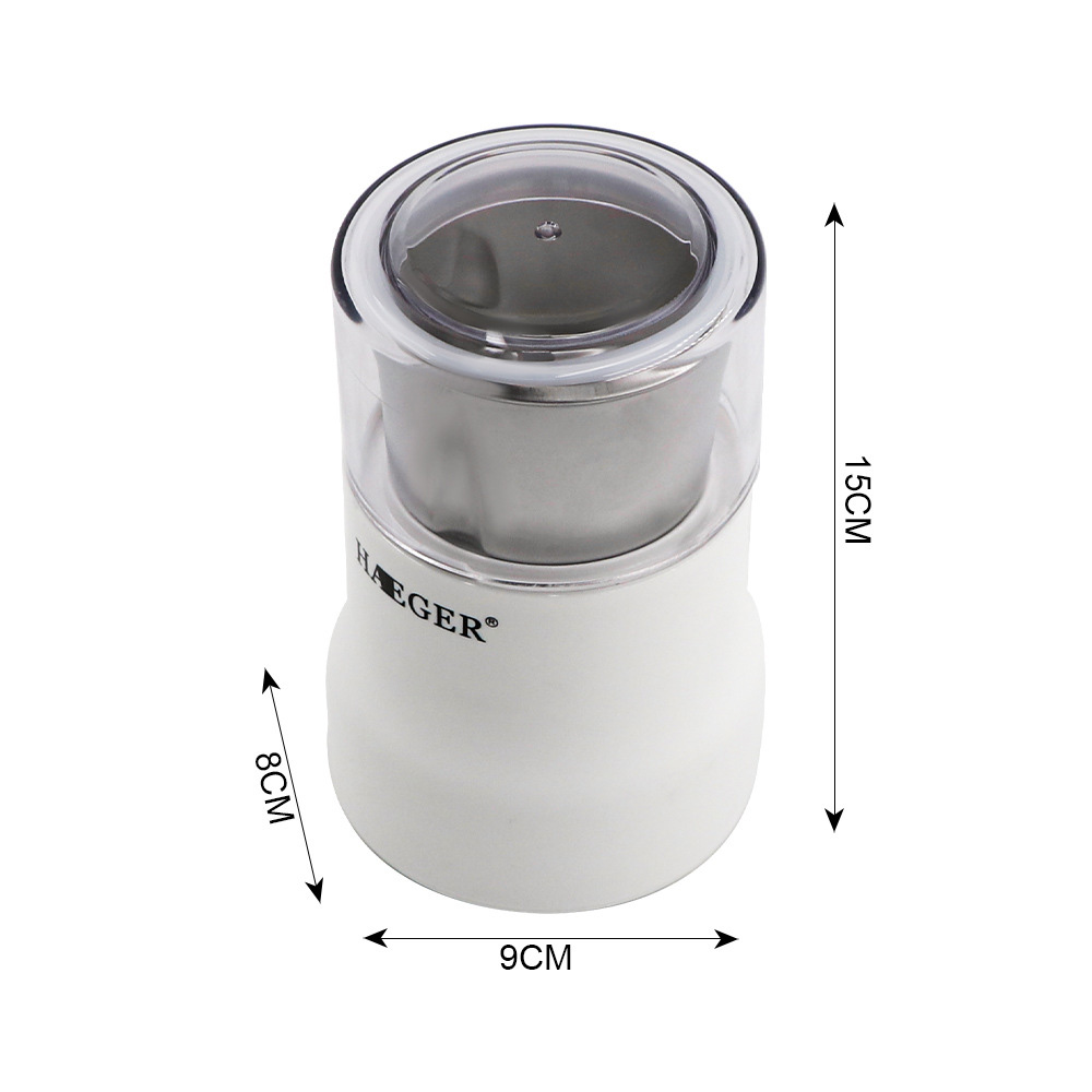 HG-7118 150W Small Coffee Grinder - White