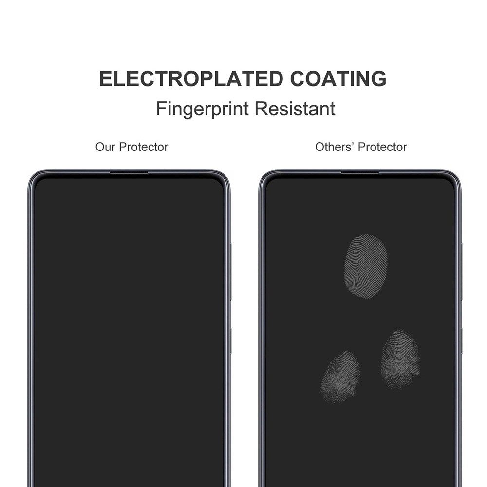 ENKAY Hat-Prince Phone Tempered Glass Protective Film for Samsung Galaxy F62 - Transparent