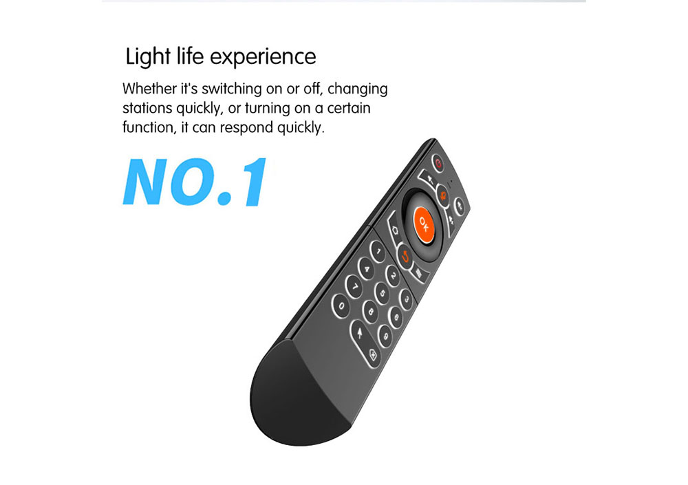 G21 Air Mouse Remote Controller - Black