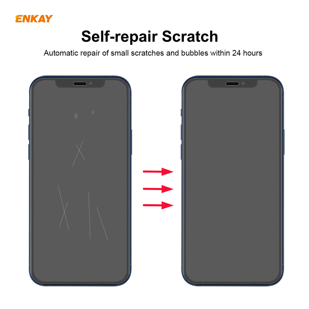 ENKAY Hat-Prince Screen Protector for iPhone 12 / 12 Pro 10PCS - Transparent