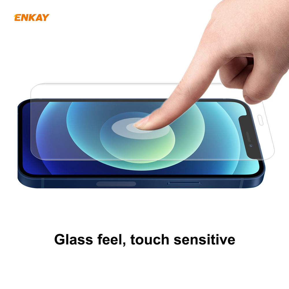 ENKAY Screen Protector for iPhone 12 Mini 10PCS - Transparent