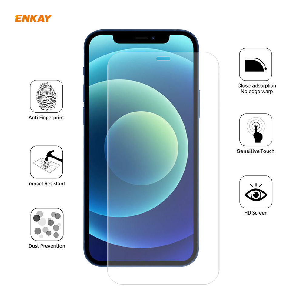 ENKAY Screen Protector for iPhone 12 Mini - Transparent