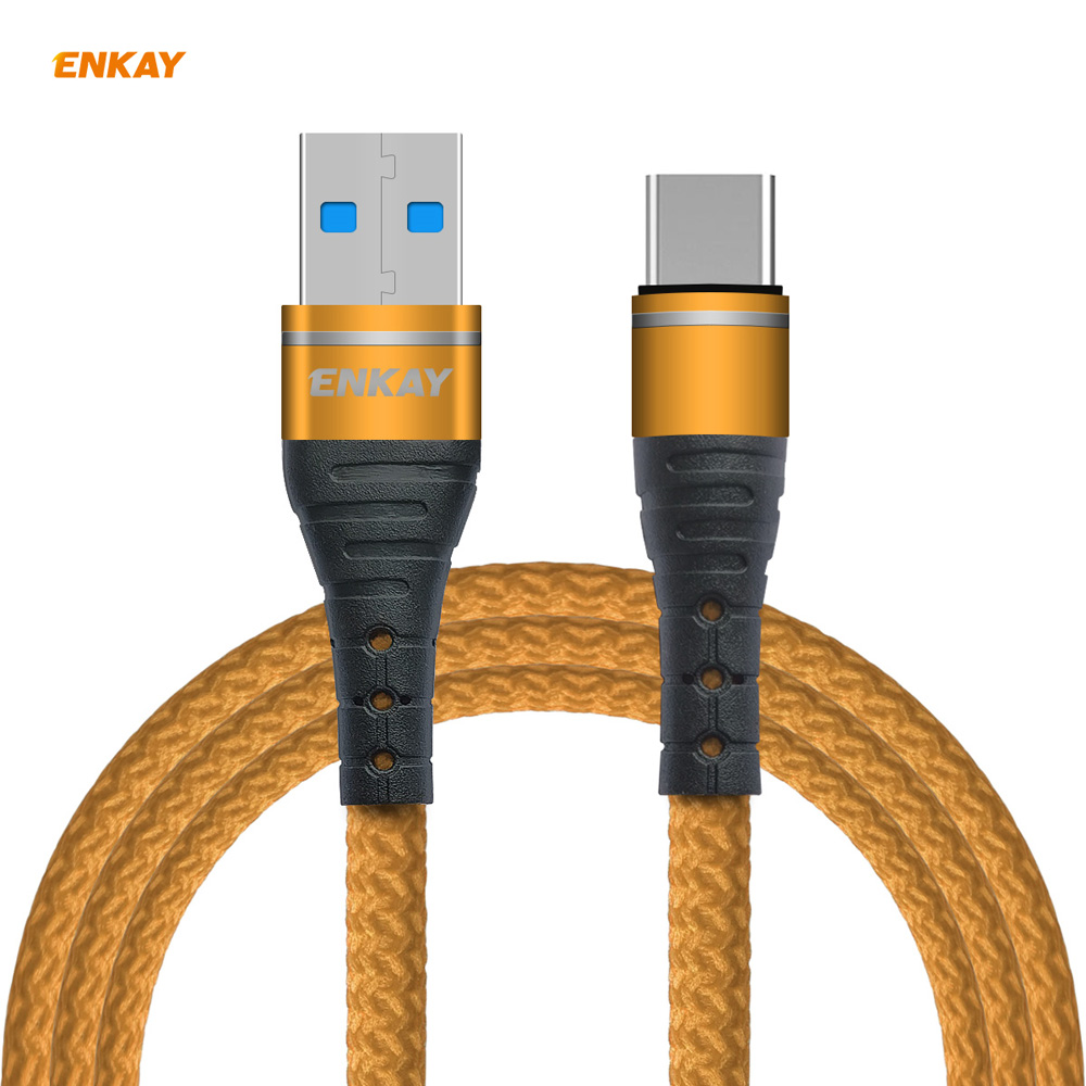ENKAY ENK-CB108 USB 3.0 to Type-C Data Cable 1M - Blue